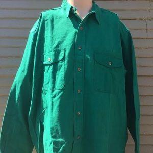 Men's Vintage Prentiss Outdoors Button up shirt
